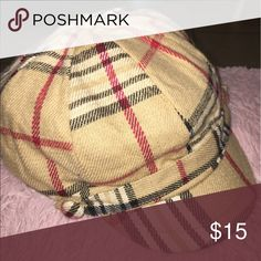 Not authentic Burberry . Woman's hat Not authentic Burberry. Woman's hat. One size fits all Accessories Hats