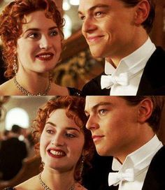 Jack & Rose ♡♡♡ they are sooo perfect together they belong together they are made for each other they are real true soulmates they're love last FOREVER the destiny match them - Today Pin Titanic Ship, Titanic Movie, Rms Titanic, Love Movie, Movie Tv, Kate Winslet And Leonardo, Leo And Kate, Jack Dawson, Young Leonardo Dicaprio