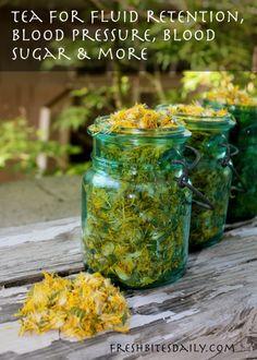 Springtime dandelion tea for fluid retention and more (and a bonus farm visit)