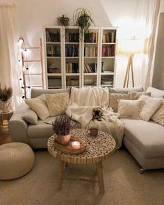 r/CozyPlaces – The ultimate cozy living room – modern farmhouse decor living room Living Room Decor Cozy, Boho Living Room, Home And Living, Modern Living, Scandinavian Living Rooms, Living Room Apartment, Cozy Apartment Decor, Cozy Living Spaces, Barn Living