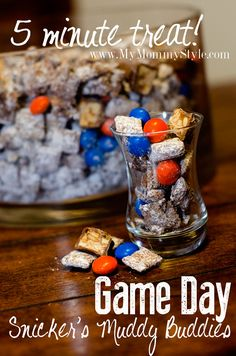 Superbowl Sunday - 25 Game Day Appetizers, Snacks and Foods - My Mommy Style Healthy Superbowl Snacks, Game Day Appetizers, Super Bowl Sunday, Most Delicious Recipe, Puppy Chow, Football Food, Football Recipes, Game Day Food, Party Snacks