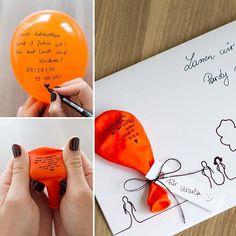 Wenn ihr mal eine Party, steigen lassen wollt... #diy #selbstgemacht #fun #invitation #einladung #ballon #doityourself #birthday #geburtstag #kids #lidlösterreich