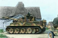 PzKpfw VI Tiger I from LSSAH in France 1944