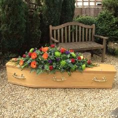 Rosina May flowers in Mangotsfield, Bristol is one of the leading floral design specialists in Bristol with over 20 years of experience. Funeral Caskets, Casket Sprays, Flower Spray, May Flowers, Bristol, Floral Design, Contemporary, Outdoor Decor, May Birth Flowers