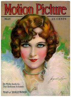 Silent Movie Magazine - Motion Picture Magazine - May 1923 - Jacqueline Logan