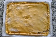 Empanada gallega previo a horneado, por delokos How To Eat Better, Apple Pie, Yummy Food, Yummy Recipes, Cooking Recipes, Sandwiches, Bakery, Appetizers, Favorite Recipes