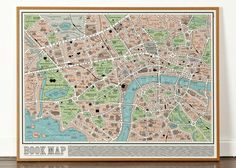 Book Map | 16 Fantastic Gifts For Lit Lovers Who Have Enough Books