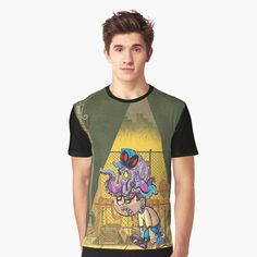 'LazyBoy' Graphic T-Shirt by Lazyboy, My T Shirt, Bold Colors, Tank Man, Shirt Designs, Printed, Awesome, Mens Tops, Stuff To Buy