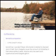 Supernatural/Stargate -- yes!