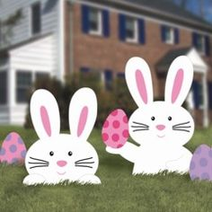 Little bunnies for the lawn - Love these!