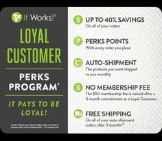 I am an It works Distributor we sell all natural products!  https://charlotte25.itworkseu.com/no/