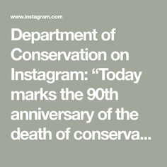 """Department of Conservation on Instagram: """"Today marks the 90th anniversary of the death of conservationist Richard Henry who pioneered moving endangered native birds to island…"""" Conservation, Death, Anniversary, Birds, Island, Inspiration, Instagram, Biblical Inspiration, Bird"""