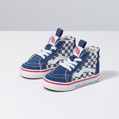 Shop bestselling Baby's Shoes at Vans including Infant Slip Ons, Authentics, Low Top, High Top Shoes & More. Shop Baby Shoes at Vans today! Vans Toddler, Toddler Boy Outfits, Cute Outfits For Kids, Toddler Fashion, Boy Fashion, Boy Shoes, Baby Girl Shoes, Summer Baby, Sneakers Fashion