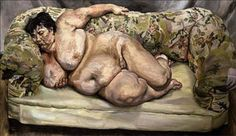 Benefits Supervisor Sleeping - Lucian Freud