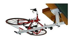 flat-bike-lift - The new overhead rack to store the bikes flat to the garage ceiling - You need this!When you find a recommended product for bike racks for gara Bike Storage Flat, Indoor Bike Storage, Indoor Bike Rack, Bicycle Storage, Bicycle Rack, Garage Storage, Best Bike Rack, Bike Lift, Bike Hooks