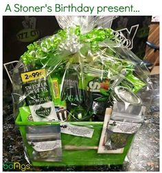 Weed Online Supply is a fast and discreet place to Buy Marijuana/ Buy weed /Buy cannabis at affordable prices within USA and out of USA.Get the best with us as your satisfaction is our priority You can text /call or WhatsApp us now via Birthday Gift Baskets, Birthday Presents, Cute Boyfriend Gifts, Boyfriend Gift Basket, Boyfriend Ideas, Stoner Gifts, Boyfriend Birthday, Diy Birthday, Happy Birthday Weed