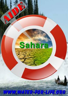 AIDE Sahara Own Goal, North Africa, Chicago Cubs Logo, Water, Life, Gripe Water