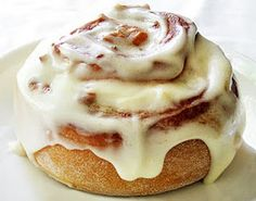 Worlds best cinnamon rolls a bread maker makes the dough for you, so all you have to do is roll it out, sprinkle the stuff on it, roll it up, bake, and there you go. SO EASY.