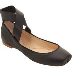 Chloe Criss-Cross Ankle Strap Ballet Flat