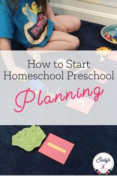 Do you need homeschool preschool lesson plan ideas that use simple preschool activities and minimal materials? Click through to get a bird's eye view of my preschool at home planning process. #preschoolathome #homeschoolpreschool #homeschoolprek