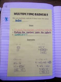 Math = Love: Radical Radicals