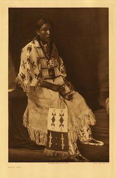 Red Elk Woman - Oglala - 1907