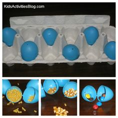 Shaky Egg Sense of Sound: Matching Game - Would be a fun Easter game for kids for small prizes - as long as everyone gets to win!