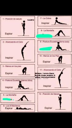Yoga, Exercises