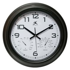 Have to have it. Infinity Instruments Seer 18 in. Outdoor Wall Clock $52.99