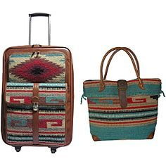 Amerilether Odyssey 2-piece Carry-on Luggage Set. This style is super cute!