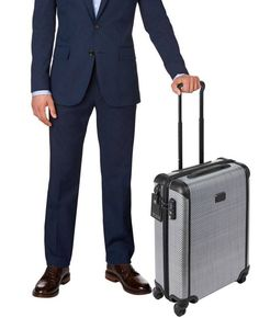 awesome Tumi Tegra Lite Worldwide Slim Carry On Baggage Light-weight 28807 T-Graphite