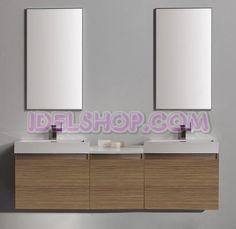 bagni moderni con doppio lavabo composizione bagno sospesa doppio lavabo e specchi