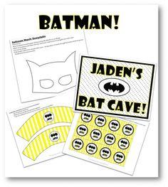 Batman Screenshot Printables