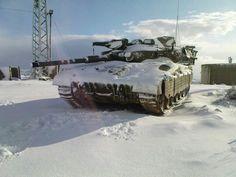 Snow Merkava