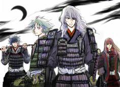 Samurai Troopers / old armor / demon masho