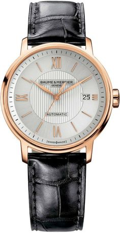 Baume et Mercier Watch Classima #bezel-fixed #bracelet-strap-alligator #brand-baume-et-mercier #case-depth-7-7mm #case-material-rose-gold #case-width-39mm #date-yes #delivery-timescale-call-us #description-done #dial-colour-silver #gender-mens #luxury #movement-automatic #official-stockist-for-baume-et-mercier-watches #packaging-baume-et-mercier-watch-packaging #style-dress #subcat-classima #supplier-model-no-m0a10037 #warranty-baume-et-mercier-official-2-year-guarantee #water-resistant-30m