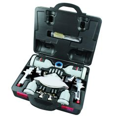 Husky HVLP and Standard Gravity Feed Spray Gun Kit-HDK00600SG at The Home Depot