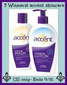 Enter to Win $30 Accent Prize Pack Giveaway (3 Winners)