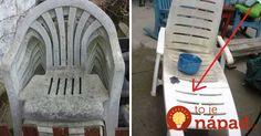 Aj váš záhradný nábytok ej po zime v hroznom stave? Takto ho môžete opäť oživiť!
