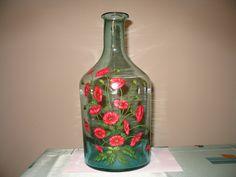 wazon ręcznie malowany (vase)