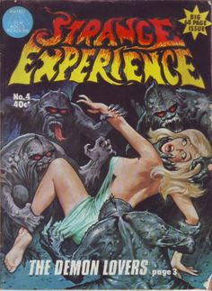 Cover for Strange Experience (Gredown, 1975 series) #4
