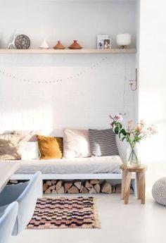 PORTFOLIO Modern Stoves, Living Room Decor, Living Spaces, Interior Styling, Interior Design, Grey Flooring, Scandinavian Interior, Home Decor Kitchen, Home And Living