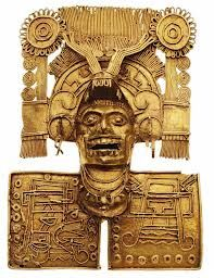 Mixtec gold piece, Tomb 7, Monte Alban, Oaxaca