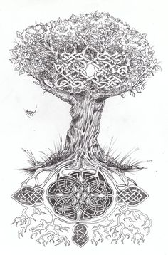 celtic tree of life tattoo | Celtic Tree of Life... by ~WikkedOne on deviantART