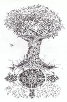 celtic tree of life tattoo   Celtic Tree of Life... by ~WikkedOne on deviantART