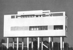 Luigi Figni (1903-84) House in Milan 1934-35