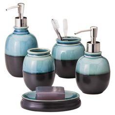 Threshold™ Cool Glazed Bath Collection