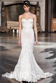 Inbal Dror Wedding Dresses - Fall 2015 - Bridal Runway Shows - Brides.com | Brides
