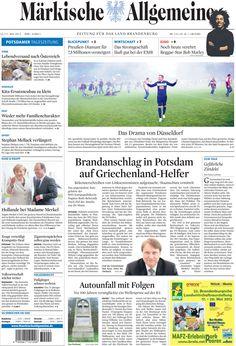 Mittwoch, 16. Mai 2012 - Herthe BSC verliert gegen Fortuna Düsseldorf in einem chaotischen Spiel » http://www.maerkischeallgemeine.de/cms/beitrag/12329435/62449/Der-Fussball-Verein-Hertha-BSC-legt-Einspruch-gegen.html