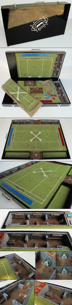 Blood Bowl Portable Field - Master Model - Classic by Tannhauser Gate Studio